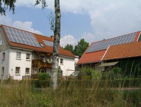 Montage von photovoltaikanlagen